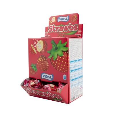 Strawbs - jahodové žvýkačky 200ks