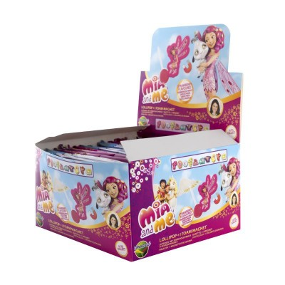 Mia and Me Lollipop + Magnet 24ks