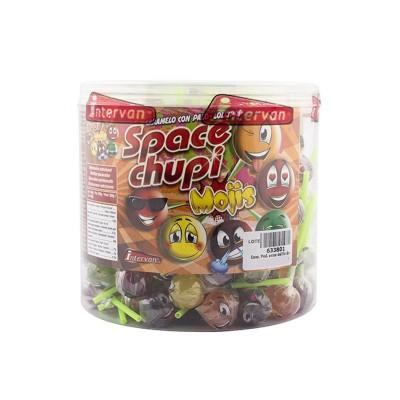 Space Chupi Mojis - Lízátko s úsměvem 150ks