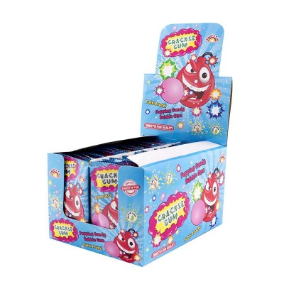 Cracle Gum - práskací prášek se žv. 50ks