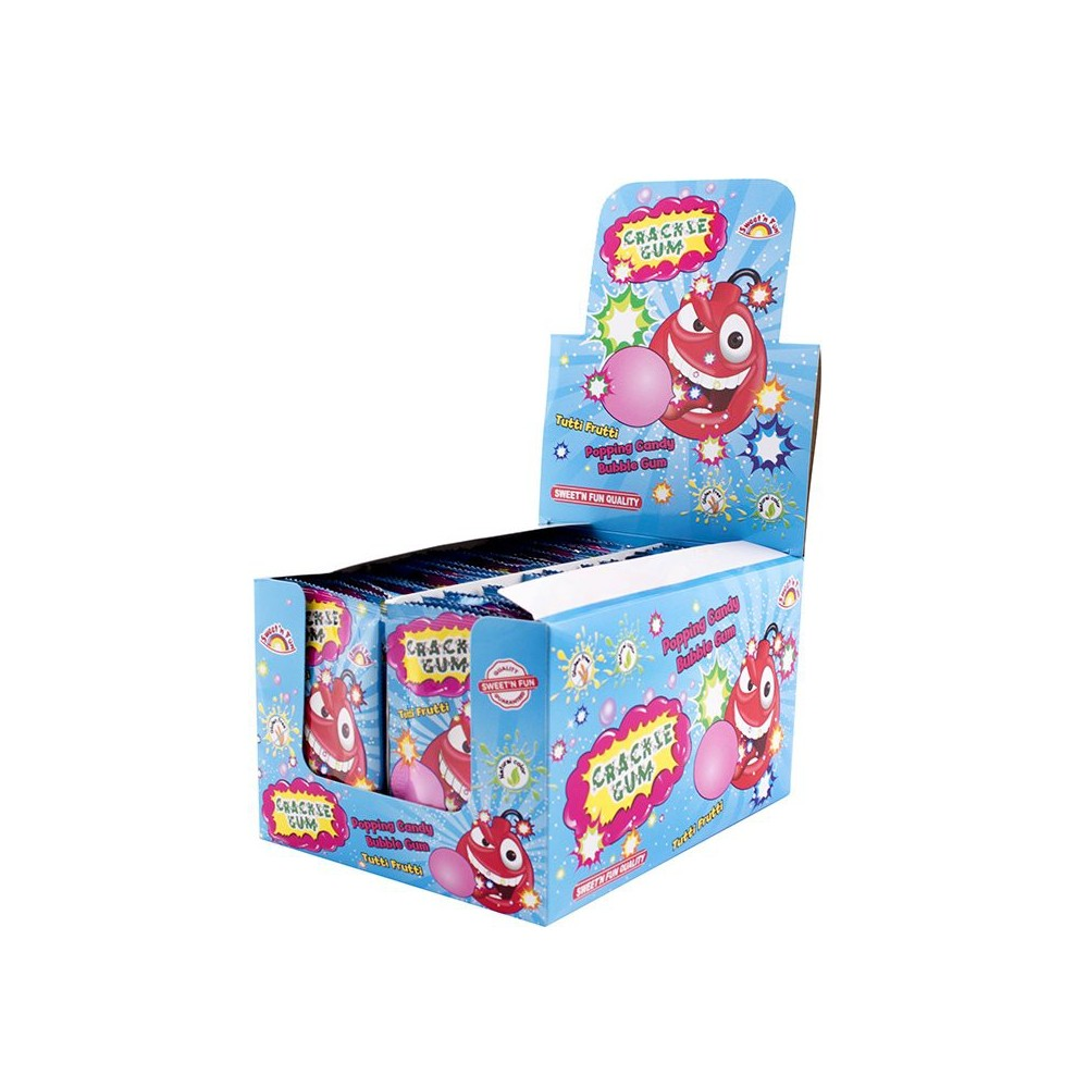 Cracle Gum - práskací prášek se žvýkačkou