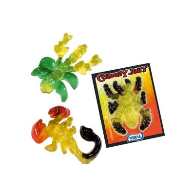 Creepy Jelly - Hmyzí příšerky 66ks