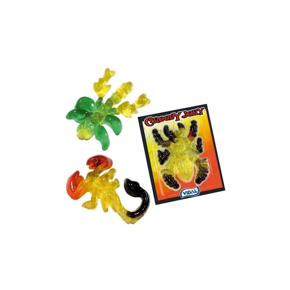 Creepy jelly želé příšerky