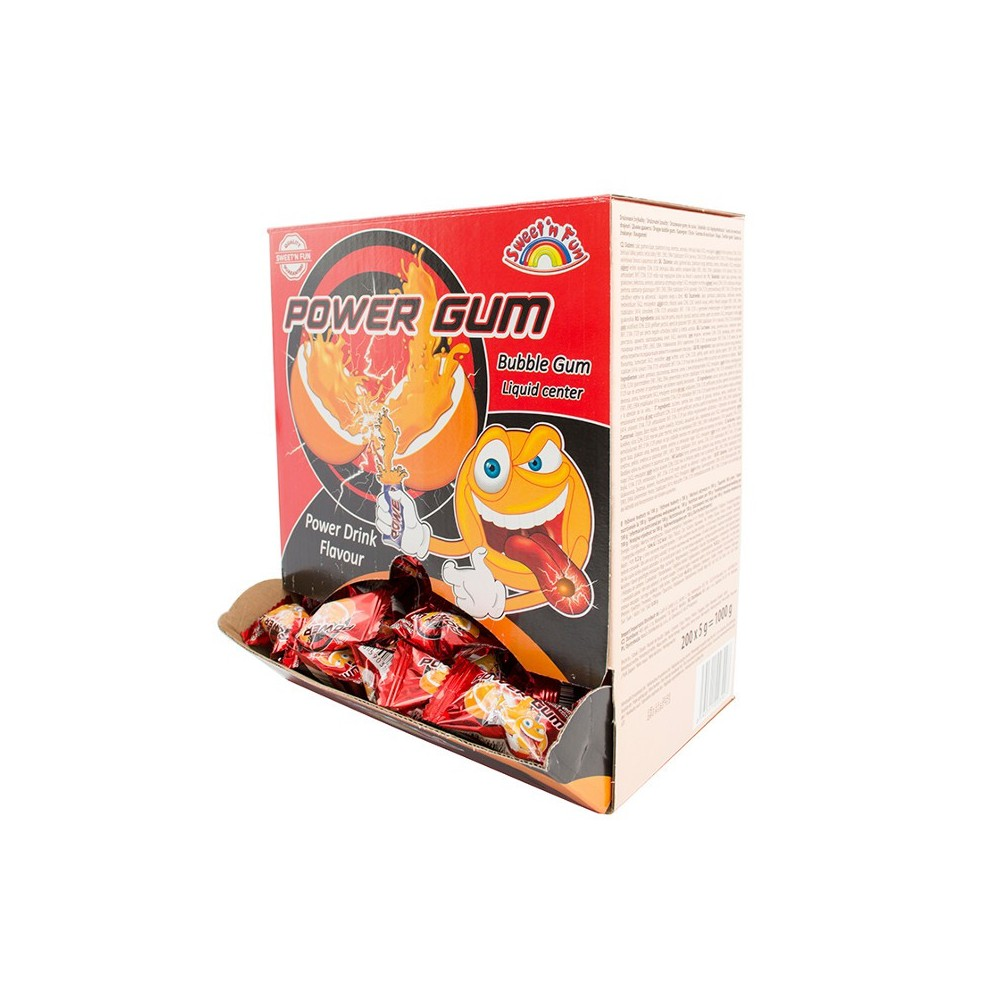 Power Gum - Energy žvýkačka 200ks