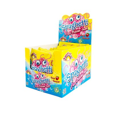 Spaghetti Fizz Bubble Gum 24ks