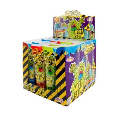 Sour Busters Mega Slime - kyselý sliz 16ks
