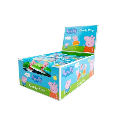 Pepa Pig Candy Ring 24ks