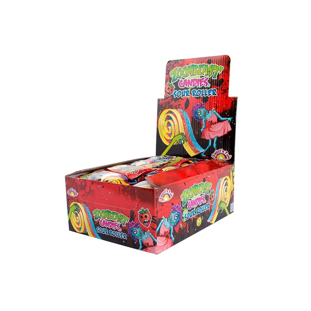 Zoombeast Sour Fun Roller 40ks