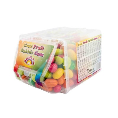 Sour Fruit Bubble Gum 300 ks