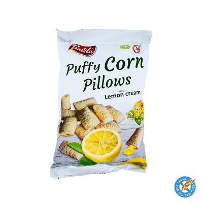 Puffy Corn Pillows - citron 4ks