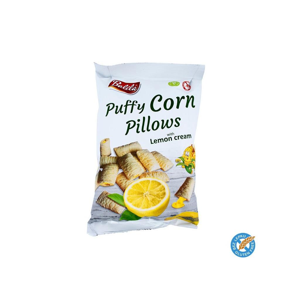 Puffy Corn Pillows - citron 4ks