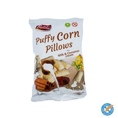 Puffy Corn Pillows - mléčné se skořicí 4ks