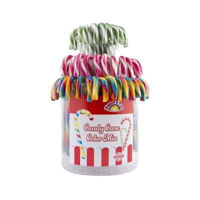 Candy Cane Color Mix - lízátko hůlka 100ks