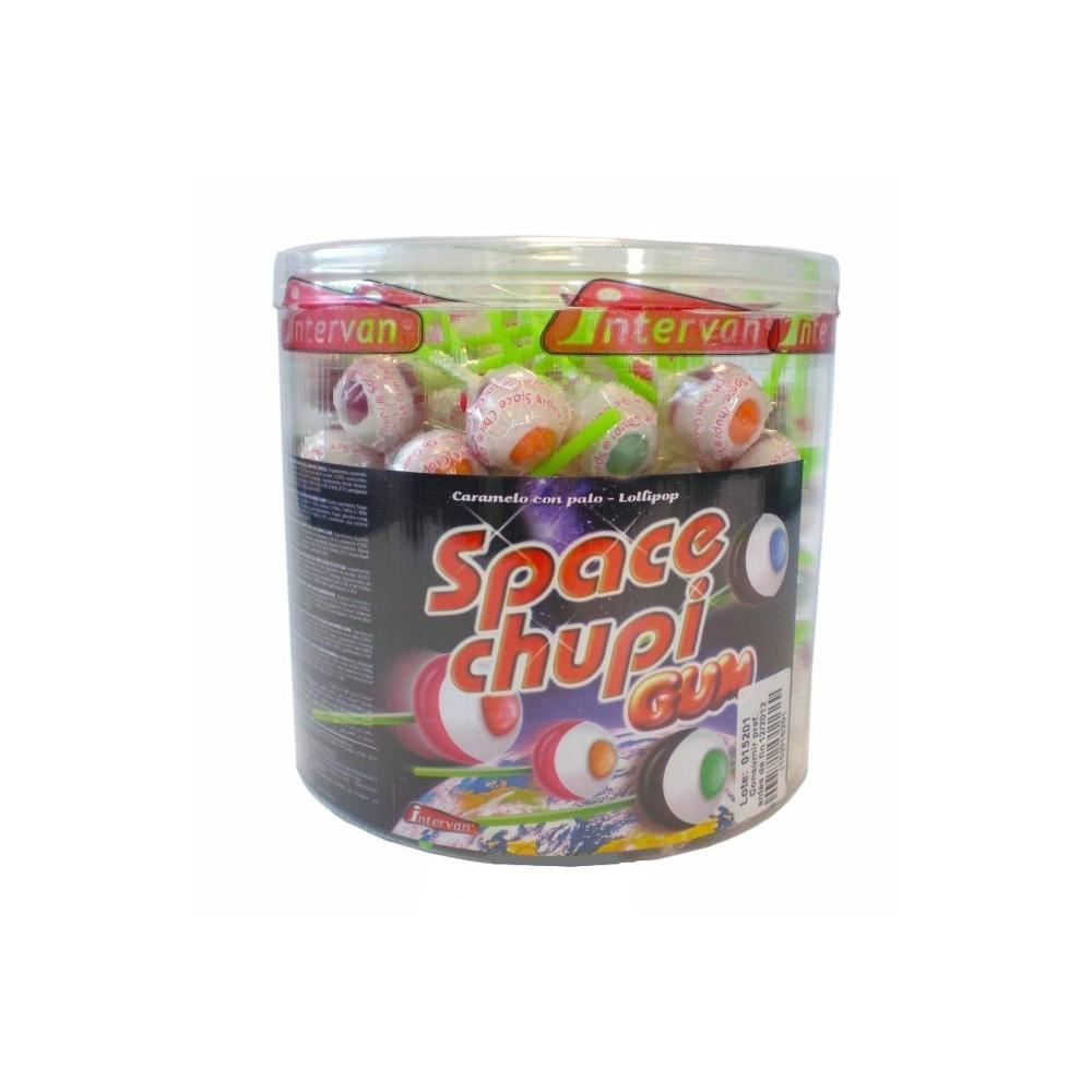 Space Chupi Gum lízátko