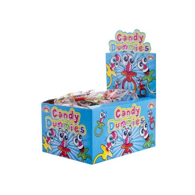 Candy Dummies - dudlíky 45 ks