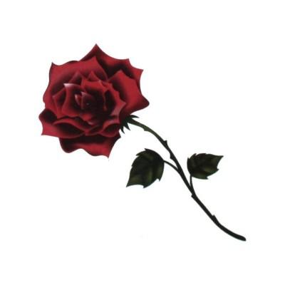 Nalepovací tetování růže