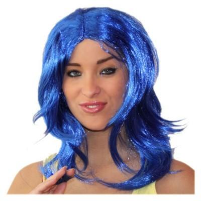 Paruka Michelle modrá
